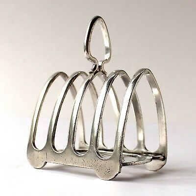 Vintage Elkington Plate Toast Rack 4 Slice from Norbury House Hotel