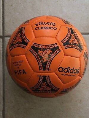 Adidas etrusco Classico 1990/92 World cup Made in France power orange