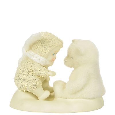 Snowbabies 4058200 Beary Good Friends Teddy Bear
