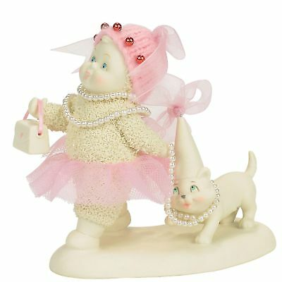 Snowbabies 4058500 The Glam Squad Pink Cat