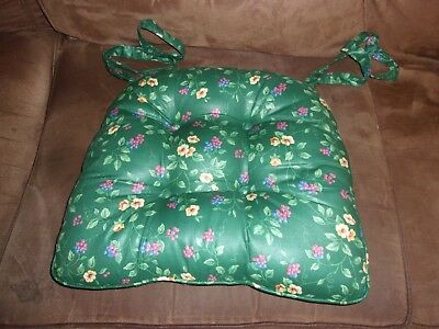 Longaberger Chair Pad - Emerald Vine