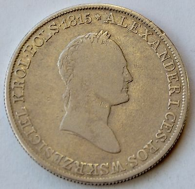 Poland 5 Zlotych, 1832, under Imperial Russia, king Alexander I