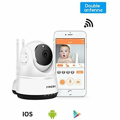 Wireless Baby Monitor Camera Security IP Home 2 Way Talking Night Vision White