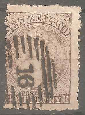 New Zealand Old Issues Perforate Rare & Very Fine 2 Scans  Watermark Star