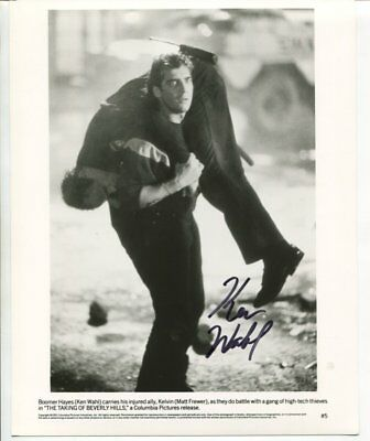 KEN WAHL autograph HAND SIGNED 5334
