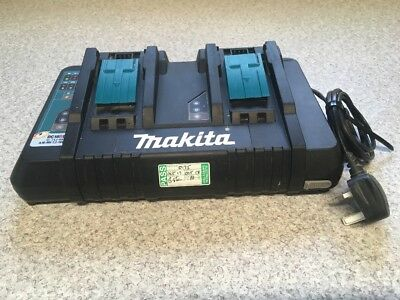 MAKITA DC18RD Double Battery Charger for 18v 14.4v Li-Ion LXT ✅ PAT TESTED ✅