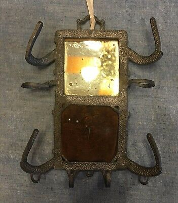 Rare And Unusual Antique Pincushion And Mirror Combination; Sewing