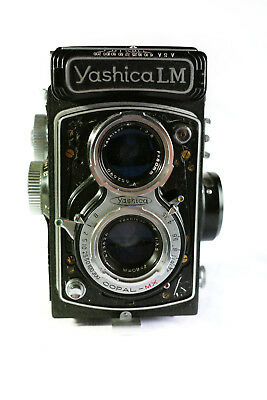 Yashica LM Copal-MX Yashikor 3.5/80mm TLR rare 120 For Parts As Is