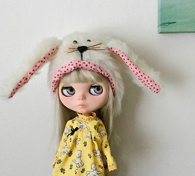 Blythe Doll Bunny Hat from Etsy