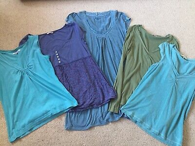 White Stuff and Fat Face 5 Tops Bundle - Size 12