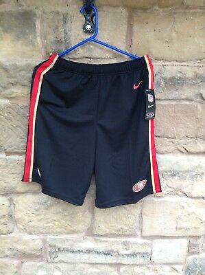 Brand New With Tags NFL Nike On Field San Francisco 49ers Dri-Fit Shorts XL Kids