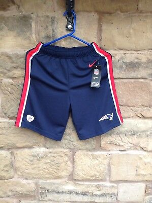Brand New With Tags NFL Nike On Field New England Patriots Shorts Kids Medium
