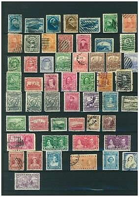 Newfoundland Stamps from 1876. 60 Used & Mint stamps.