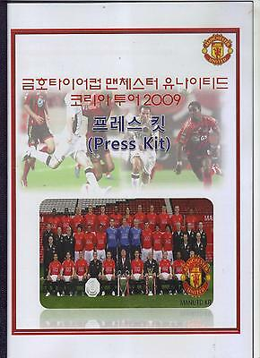 2009/10       FC Seoul    v    Manchester United     Press Kit  Programme   MINT
