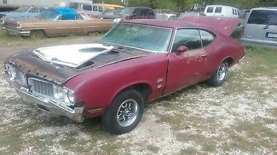 1970 Oldsmobile Cutlass  RARE 1970 OLDSMOBILE CUTLASS W31 BLACK 4 SPEED OAI 3.91 POSI PROJECT 70 HARDTOP
