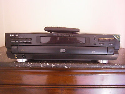 platine lecteur 5 cd carousel philips cdc 751