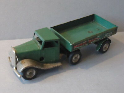 Triang Minic Tinplate Clockwork   72M Articulated Brewery Lorry - Original