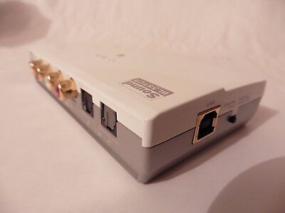 CREATIVE SOUND BLASTER SB0270 EXTERNAL SOUNDCARD usb to phono/optical amplifier