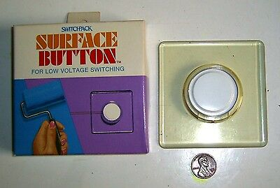 SWITCHPACK Electrical Surface Button For Low Voltage Switching-Made in U.S.A.