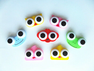 SALE! Frog, Monkey, Chick, Owl- Cartoon Mini Contact Lens Case Travel Box