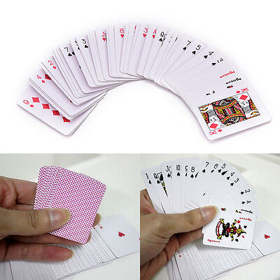 Cute Mini Poker Small Playing Cards Family Game Travel Game 5.3 X 3.8 Cm EV