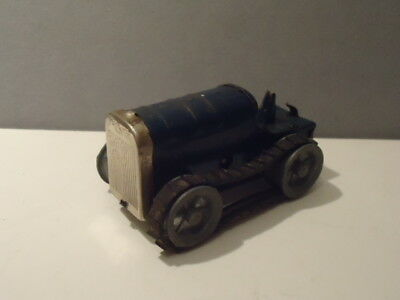 Triang Minic Tinplate Clockwork Tractor  - Playworn For Spares Or Repairs