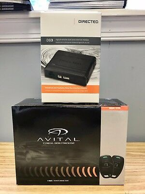 Avital 4115L Remote Start System Keyless Entry & DB3 Bypass Combo 2 items NEW