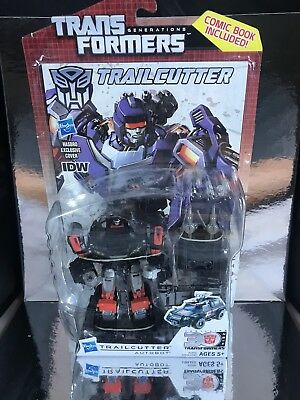 Transformers Generations Universe Classics Deluxe Class Idw Trailcutter misb new