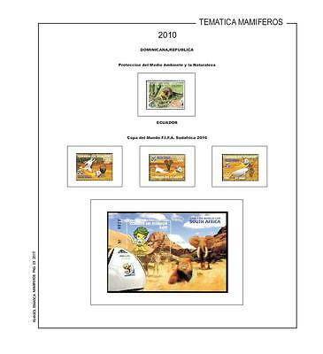 Stamps stamps Mammals (animals) - Filkasol Thematic - Hojas without mount - M
