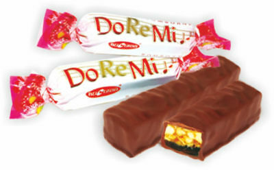 NEW!  BUCURIA DO-RE-MI CHOCOLATE  MADE IN MOLDOVA 20 pieces/pack - 250 grams