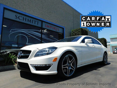 2013 Mercedes-Benz CLS-Class CLS63 AMG 2013 Mercedes-Benz CLS63 AMG, Matte White, 1 Owner, Low Miles, P30 AMG Pkg