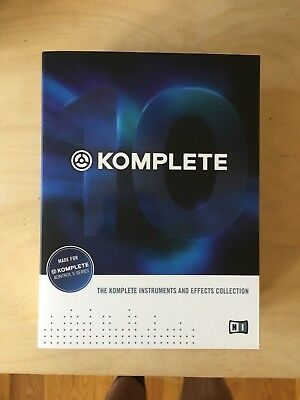 Native Instruments Komplete 10 (full version with license transfer)