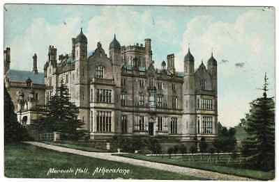 Old Postcard Merevale Hall, Atherstone, Warwickshire Nr. Nuneaton From Baxterley