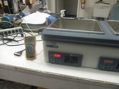 Fisher Scientific Model: IsoTemp 215 Digital Controlled Water Bath.  Good Used <