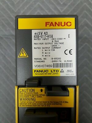 Fanuc auxiliary amplifier A06B-6117-H104