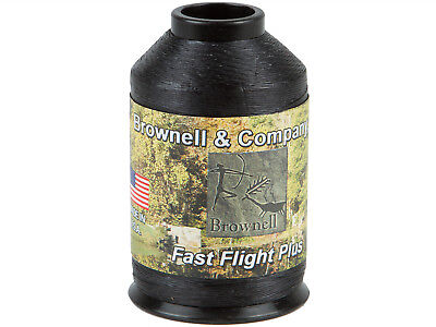 Brownell Sehnengarn Fast Flight Plus schwarz Bogensehne Bogensport 1/4 lbs