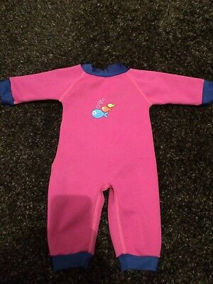 Baby Girl Wetsuit 0-3mths