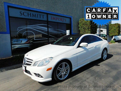2010 Mercedes-Benz E-Class 2dr Coupe E550 RWD 2010 Mercedes-Benz E550 Coupe , AMG Package, 1-Owner!