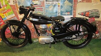 Terrot 125 ETD French  Collectable Pit Bike Classic Camper