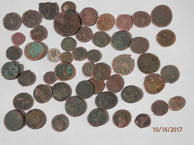 50  Roman Ancient Coins 2000 Year Old