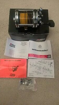 Abu ambassadeur 7500 C3 multiplier fishing reel