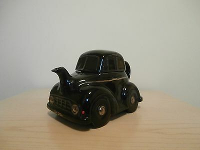 Carlton Ware Black Morris Minor Car Teapot