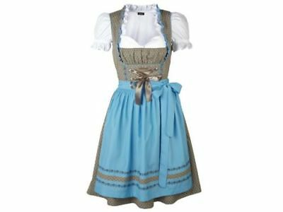 NEW German Bavarian Exclusive 3 pc. Dirndl Dress  2-4