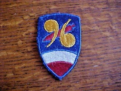 WW2 US Army 96th Chemical Motar Battalion Patch