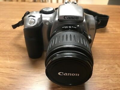 Canon EOS Rebel Digital Camera DS6041 18-55mm Lens w/battery, chargers & strap