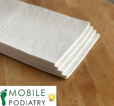Hapla Chiropody Felt Sheet (3mm, 5mm, 7mm - multiple sizes)