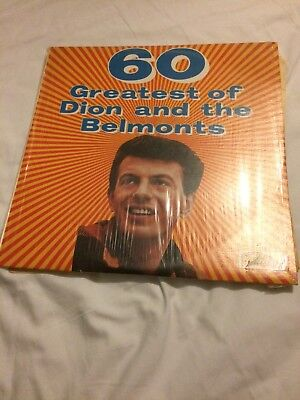 60 Greatest Hits of Dion and The Belmonts LP