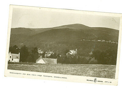 Vintage Postcard. Tominauchty And Ben Aicen From Tominurie. Craicellachie.