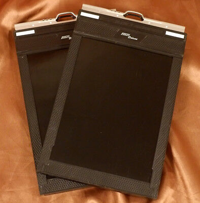 Pair of Superb Fidelity Deluxe 5x7 Cut Sheet Film Holders