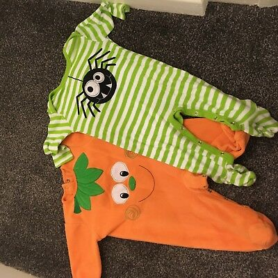 Baby Halloween outfit/baby gro 3-6 months